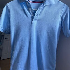 cute blue polo for kids or for petite women